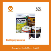 900g standard empty stainless steel milk cans