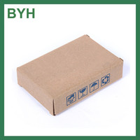 corrugated cardboard packing box small postage box plain small Air ship cardboard boxes