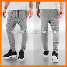 Newest baggy pants custom mens baggy pants 100% polyester baseball pants