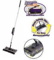 Carpet Cleaning Rechargeable Cordless Electric Sweeper As Seen On Tv