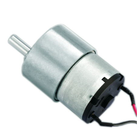 Rotating display application type 24 volt dc motor geared