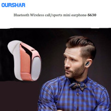 Professional bluetooth wireless earbud, mini S630 bluetooth headphones 4.1 stereo In-Ear headset, sport earphone waterproof