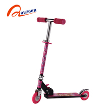 High quality long duration time mini children foldable kick scooter form Chinese factory