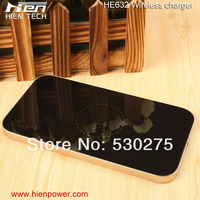 Mobile phone qi inductive wireless charger for galaxy s5 mini size