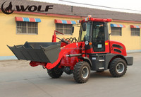 Hot sale road construction equipment small machines wheel loader with earth auger zl15b