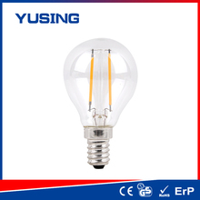TUV 200lm e14/e27 A45 filament LED bulb LED bulb 2w compared to halogen