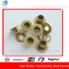 YX-12 high quality brass eyelets for canvas, tags, document eyelets