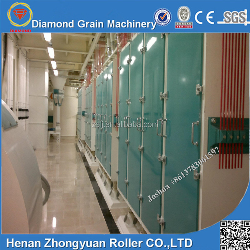 60-100T/D wheat grinding machine price, wheat milling machine, wheat flour machine