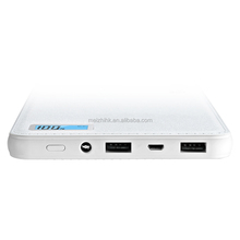 Backup battery pack mobile charger 25000 mah power bank,one plus one power bank battery mobile charger