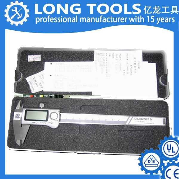 150mm 6inch electronic gear tooth vernier caliper digital brake caliper