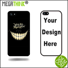 Smile image design for Apple iPhone 6s case customized printed we are all bad here