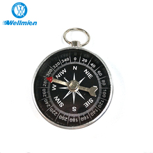 2018 Standard Design Waterproof Silver Professional Compass Military