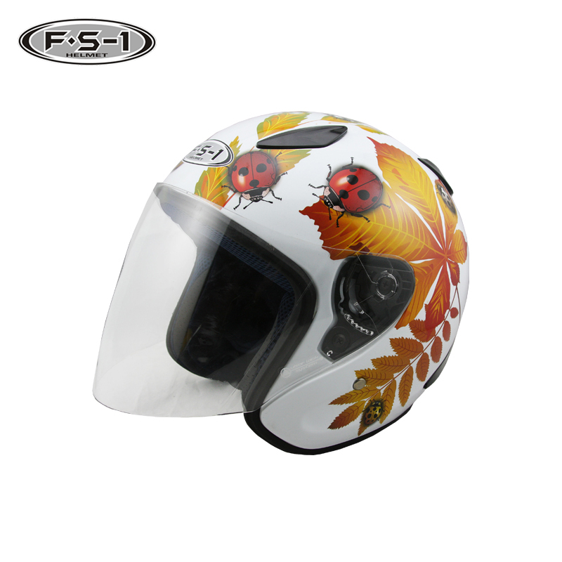 Custom bluetooth motocross helmet blue color full face motorcycle helmets open face