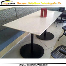 Quality hot sale poplar dining table and chair