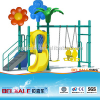 outdoor childrens swings and slide SW006