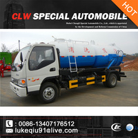 Dongfeng XBW mini 4*2 4000 liters Sewage Suction Truck
