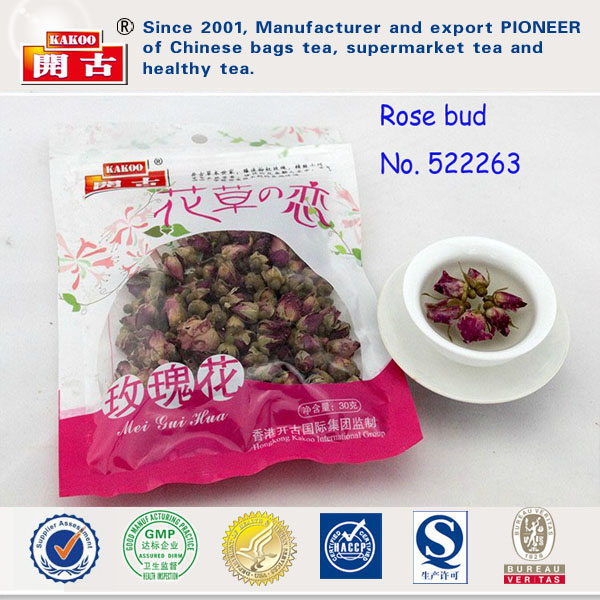 Chinese Hot Sale Herbal Tea French Pink Dried Rose Buds Flower