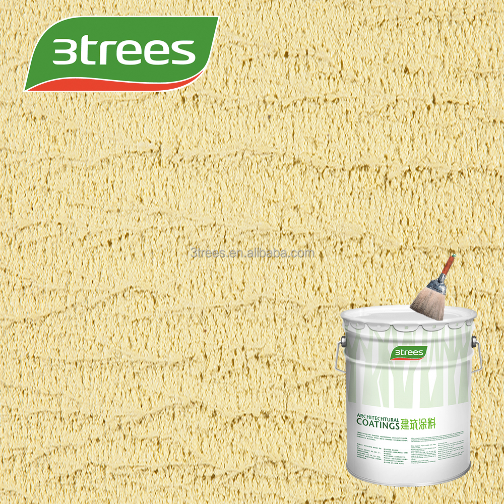3TREES Hot Sell Building Usage Multiple Design Rough Texture Spray Paint