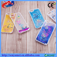 Phone Accessories For iPhone 6 6S Liquid Glitter Case Phone Cover