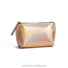 Hot Sale New Basics Cosmetic Bag with Glitter PU