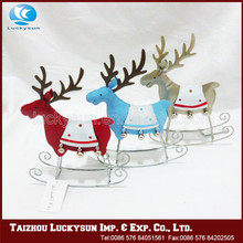 Christmas Glittered Reindeer Ornement 2016 Hot Sale Christmas Decorations