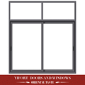 design aluminium glass window frame and glass design sliding type