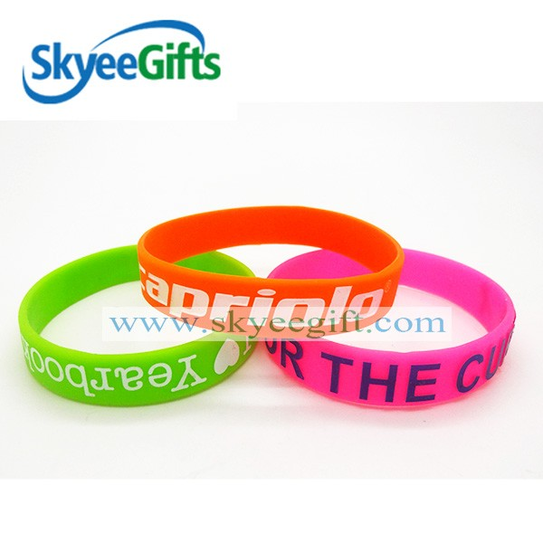 High quality customized free silicone wristband