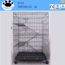 wholesale Stainless steel wire mesh metal cat cages