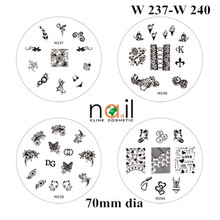 W series konad stamping nail art kit