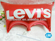 Customized shaped foil,helium gas arch balloon