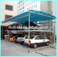 Two layers BDP series auto puzzle parking system car park management system