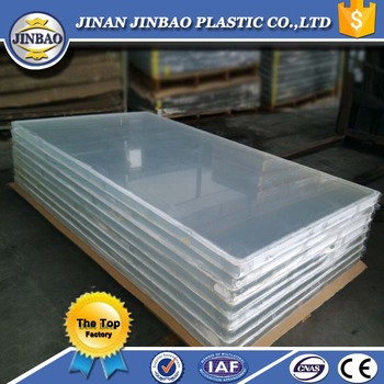 crack resistant 30mm thick aquarium pmma acrylic glass perspex sheet