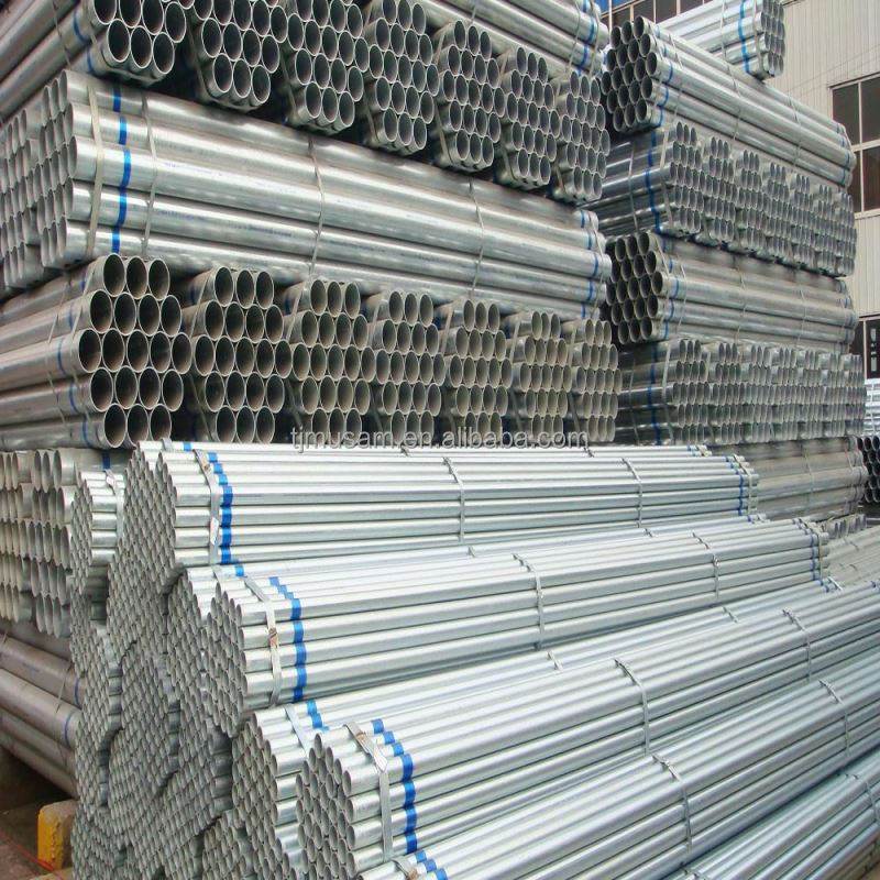 Galvanized Steel Pipe produced by YU XING factory in Tianjin