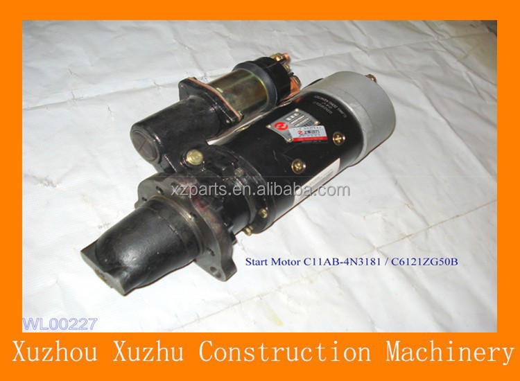 New Hot Sale XCMG ZL50GN/LW300KN Start Motor