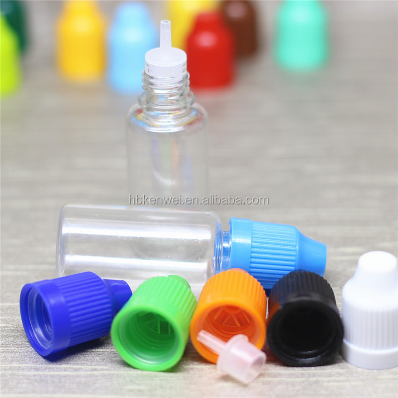 wholesale plastic e-juice e-liquid 15ml child proof dropper bottles with labels from china factory