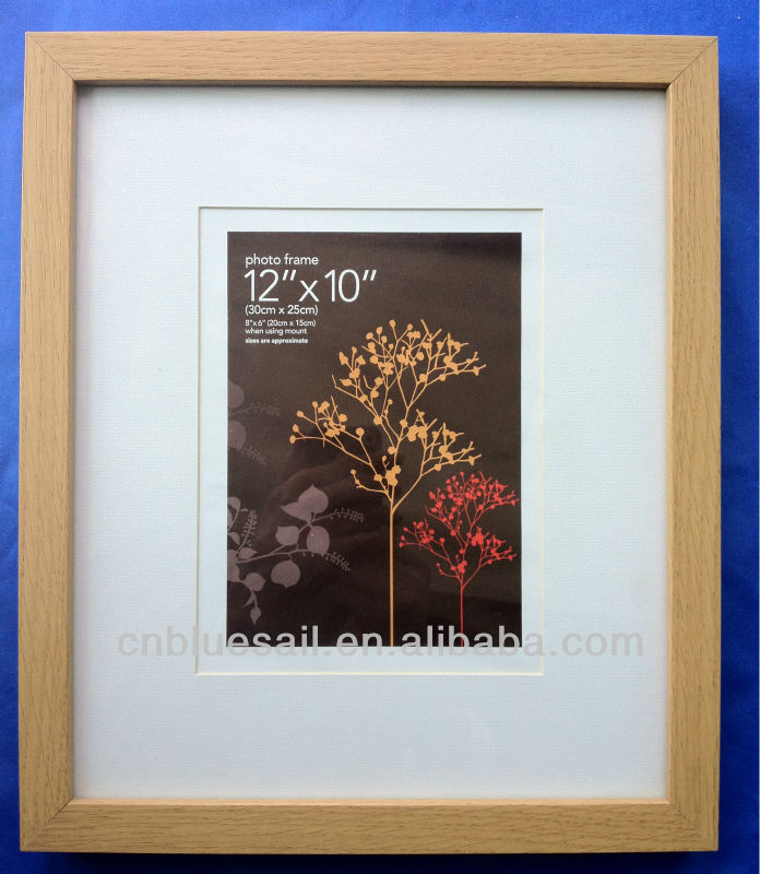 2017 MDF wood frames, wood photo frame type, photo picture frames, box profile