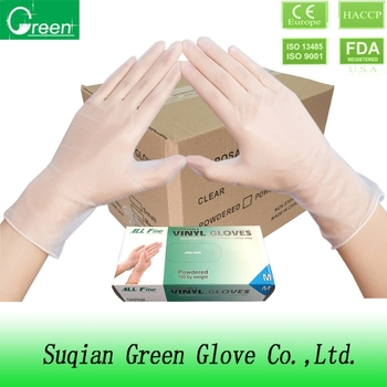 ce approved vinyl glove