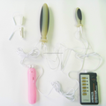 silicone rubber electric massage kit silent vibrator toys for ladies