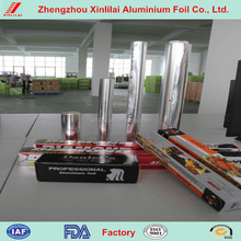 Aluminum foil food packing plastic roll film, PE/AL/PET material packing film roll