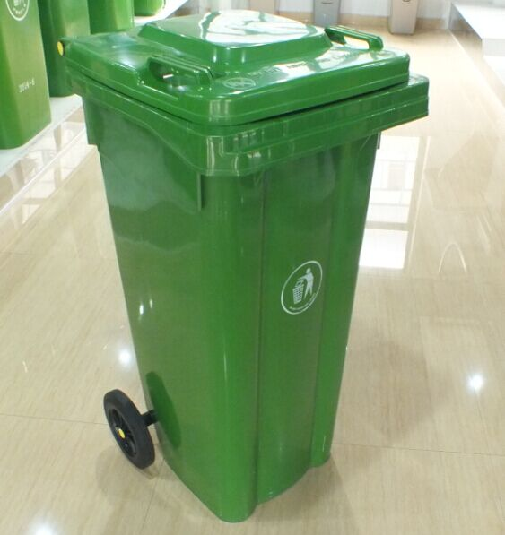 Outdoor foot pedal dustbin,Large plastic garbage can,garbage bin