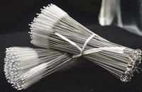 Bristle Cleaner for Stainless Steel Drinking Straws, Recycle Drink Straw Cleaning Brush, food grade Nylon straw cleaner