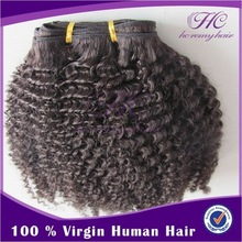 Factory Wholesale Unprocessed Cheap Remy Afro Human Hair Virgin Peruvian Weave