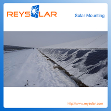 photovoltaic for the industry solar farms mounting system solar panel frame ground