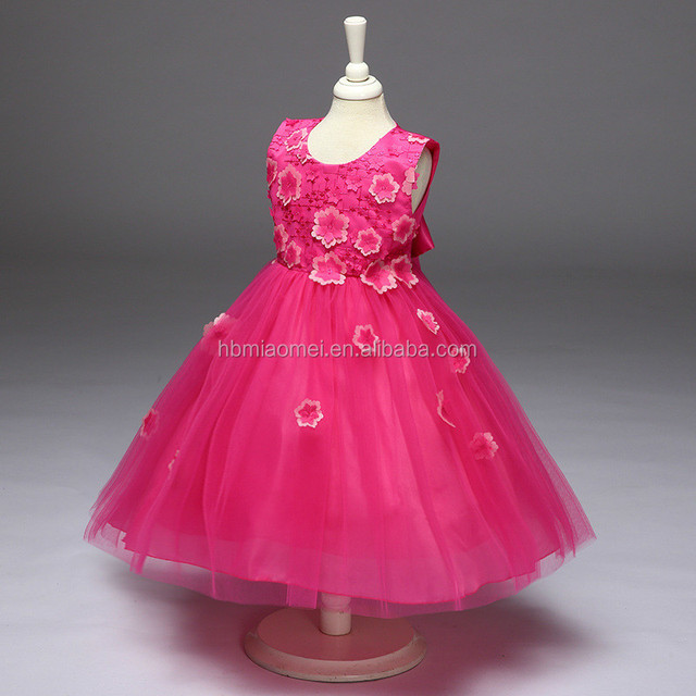 baby 6 years old party dress_Yuanwenjun.com