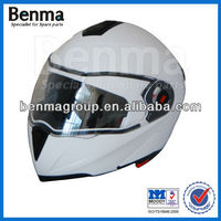 white motorcycle helmet,double visor helmet for motorcycle,safe with high quality and reasonable price