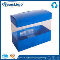 phone case retail packaging plastic box sliding lid