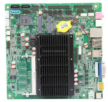 Thin Fanless Mini-ITX Celeron 1037U motherboard support 3G and Wifi