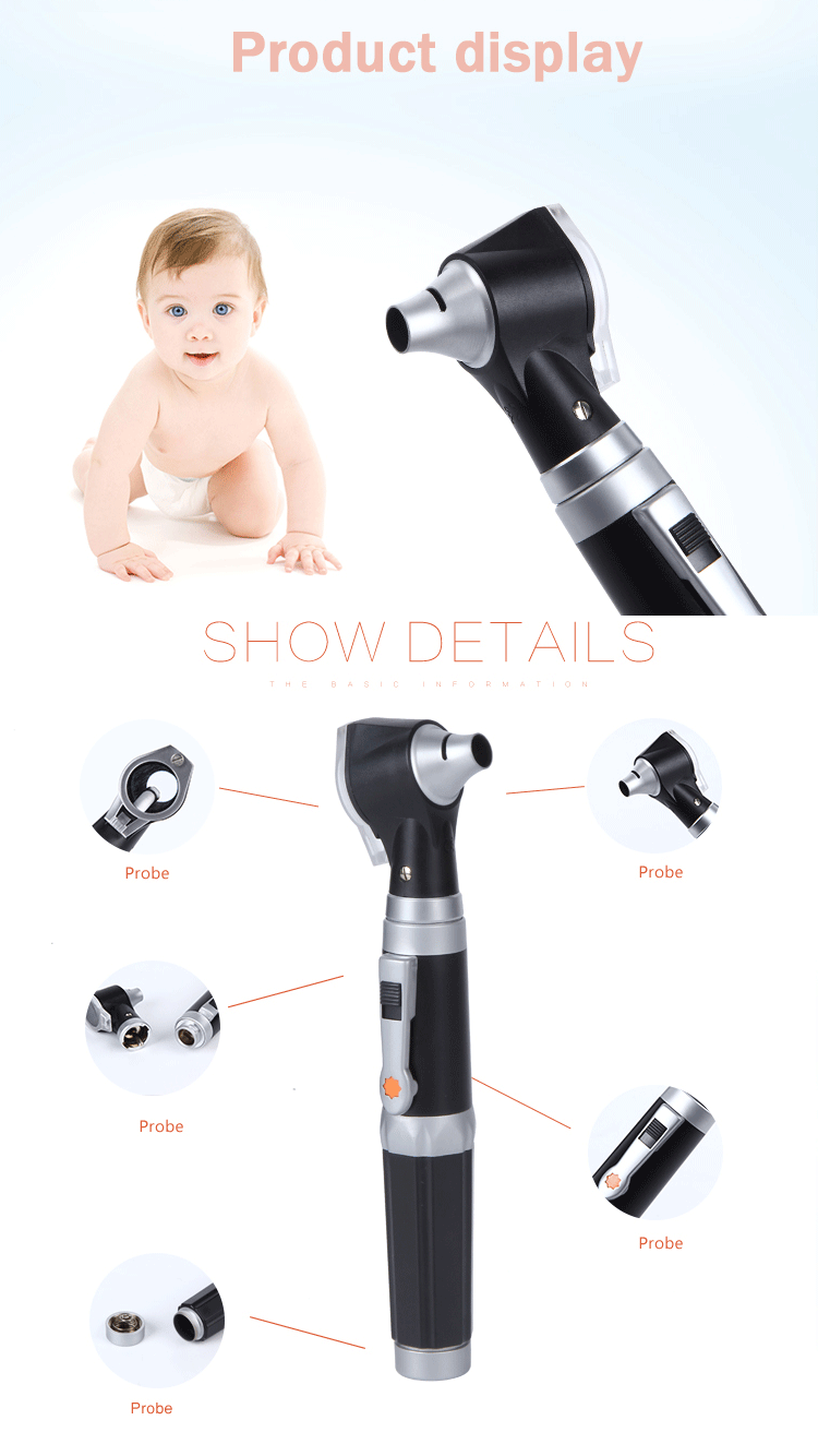 VM-T200 Direct Illumination Otoscope LED White