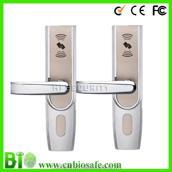Chinese Supplier Smart Card Hotel Door Different Kinds Of Locks(HF-LM802)