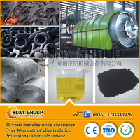 High Recover Rate Automatic Waste Tire Recycling Oil Machine